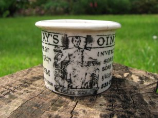 holloways ointment jar