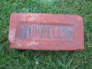 house brick with mark of Tunbridge Wells brickworks