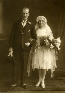 Wedding of Sargent Crowther and Cissie Ormondroyd